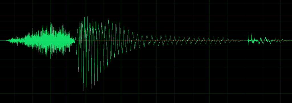 waveform for sound